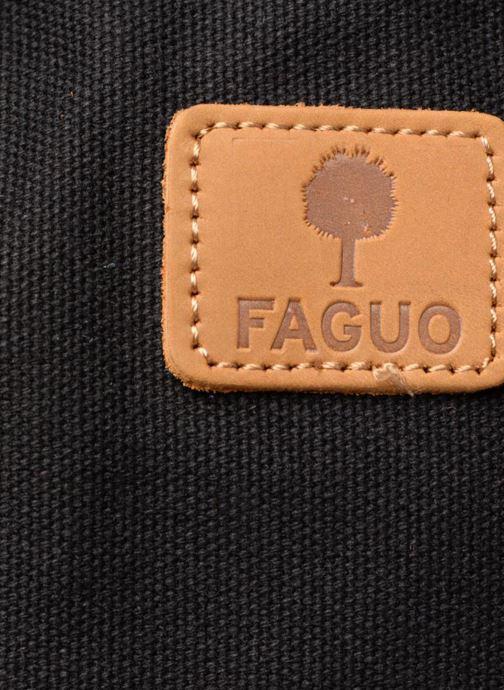 Sporttassen Faguo BAG4801 Zwart links
