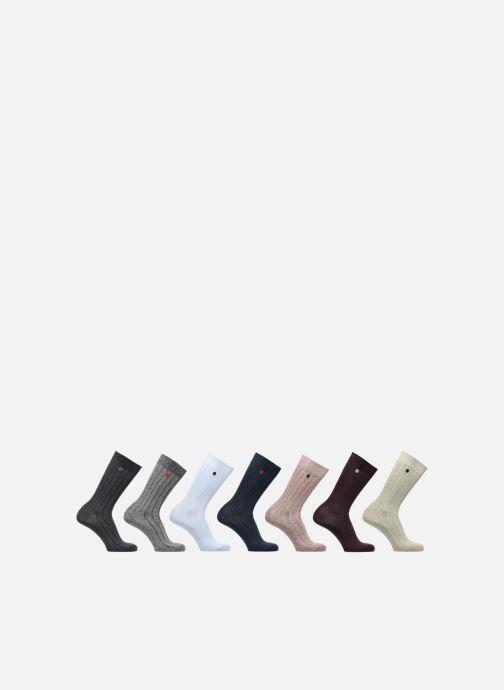 Socken & Strumpfhosen Faguo CHAUSSETTES SEMAINIER mehrfarbig detaillierte ansicht/modell