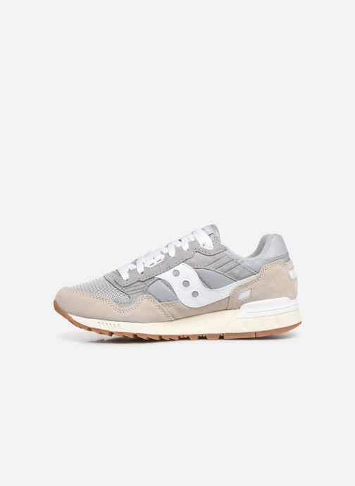 Baskets Saucony Shadow 5000 Vintage Gris vue face