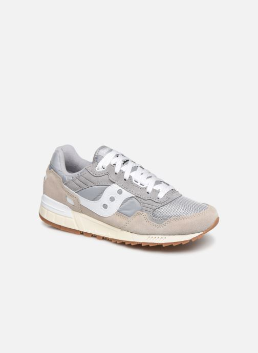 Baskets Saucony Shadow 5000 Vintage Gris vue détail/paire