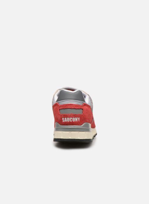 Sneaker Saucony Shadow 5000 Vintage rot ansicht von rechts
