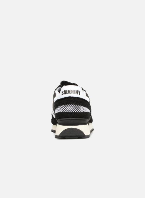 Sneaker Saucony Shadow Originals Vintage schwarz ansicht von rechts