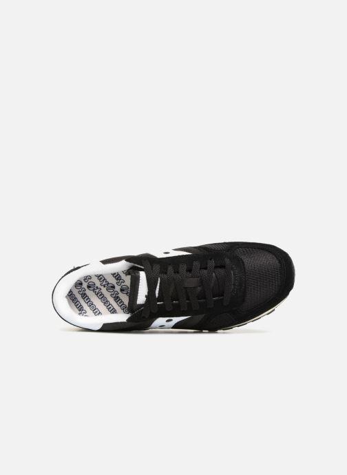 Sneaker Saucony Shadow Originals Vintage schwarz ansicht von links
