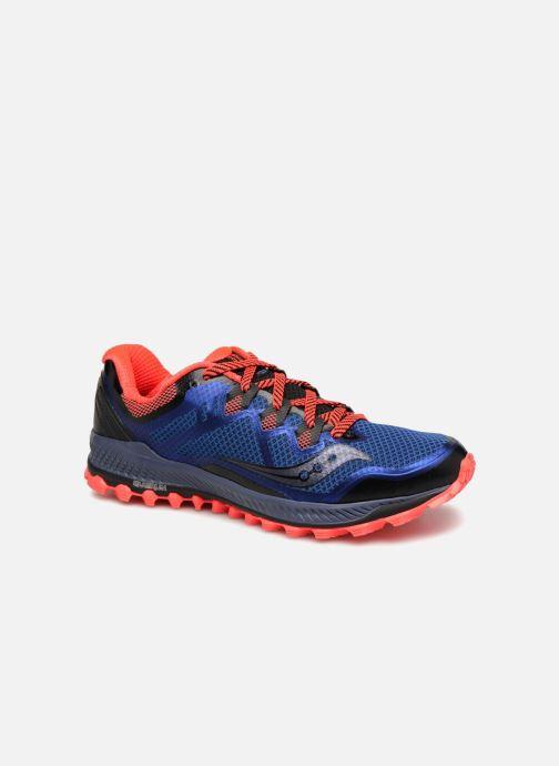 Zapatillas de deporte Saucony Peregrine 8 Azul vista de detalle / par