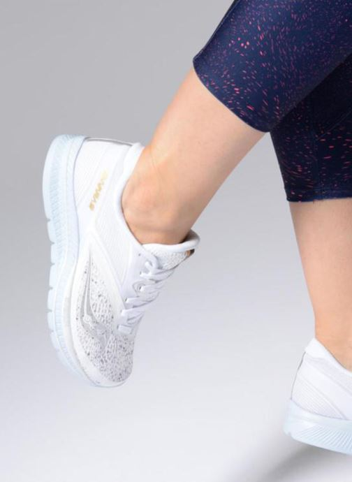 Zapatillas de deporte Saucony Kinvara 9 Blanco vista de abajo
