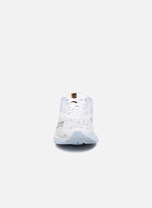 Zapatillas de deporte Saucony Kinvara 9 Blanco vista del modelo