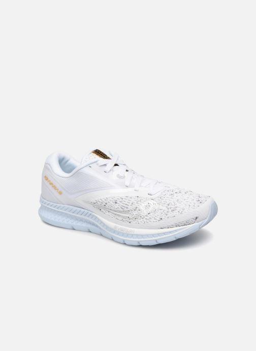 Zapatillas de deporte Saucony Kinvara 9 Blanco vista de detalle / par