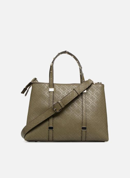 Sacs à main Guess Coast to Coast Status Satchel Vert vue face