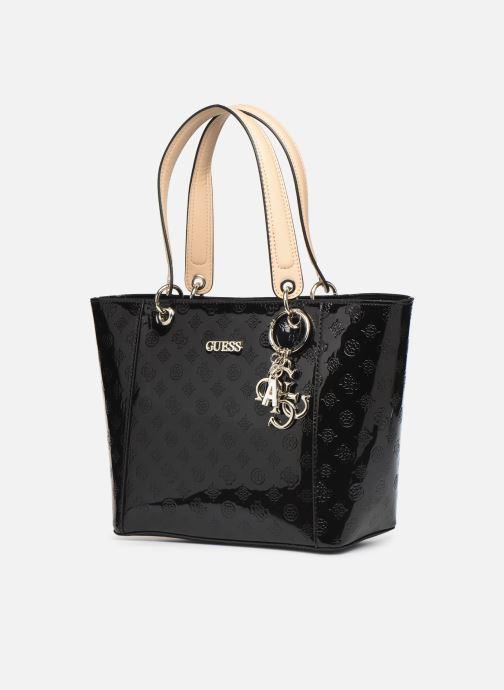 Handtaschen Guess Kamryn Tote schwarz schuhe getragen