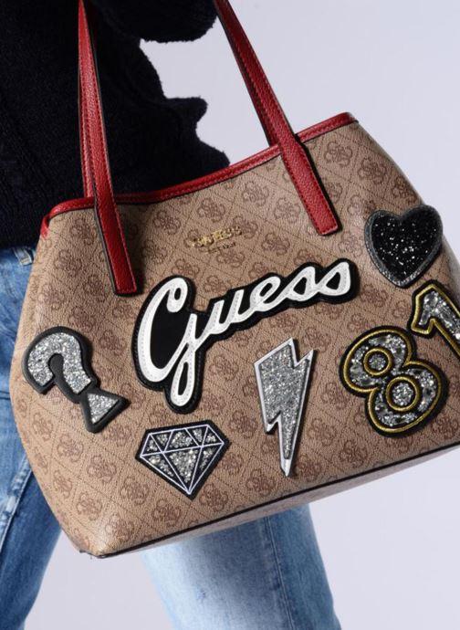 Handtasche «Vikky Tote» von Guess, braun