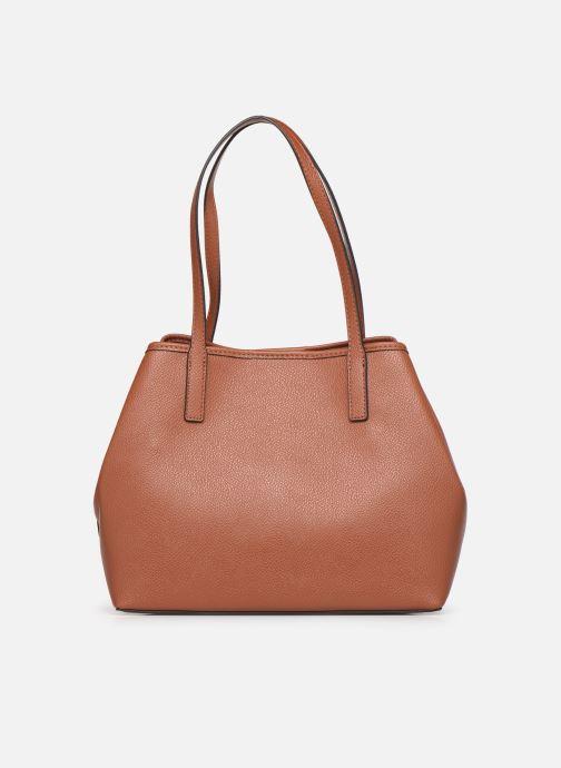 Handtaschen Guess Vikky Tote braun ansicht von vorne