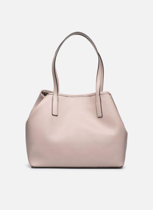 Handtaschen Guess Vikky Tote rosa ansicht von vorne