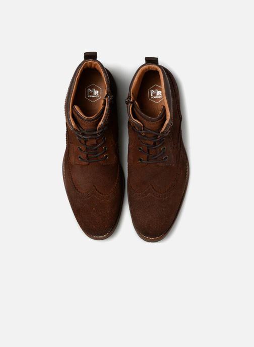 Boots en enkellaarsjes Mr SARENZA Stenia Bruin model