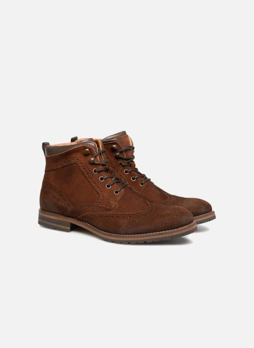 Ankle boots Mr SARENZA Stenia Brown back view