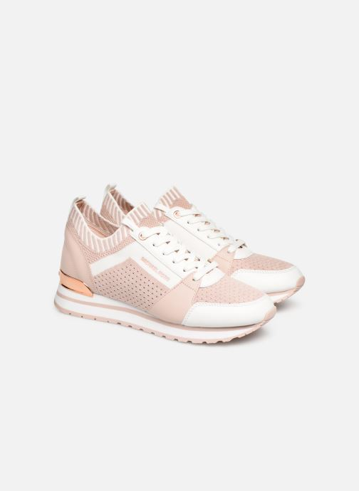 Sneaker Michael Michael Kors Billie Knit Trainer rosa 3 von 4 ansichten