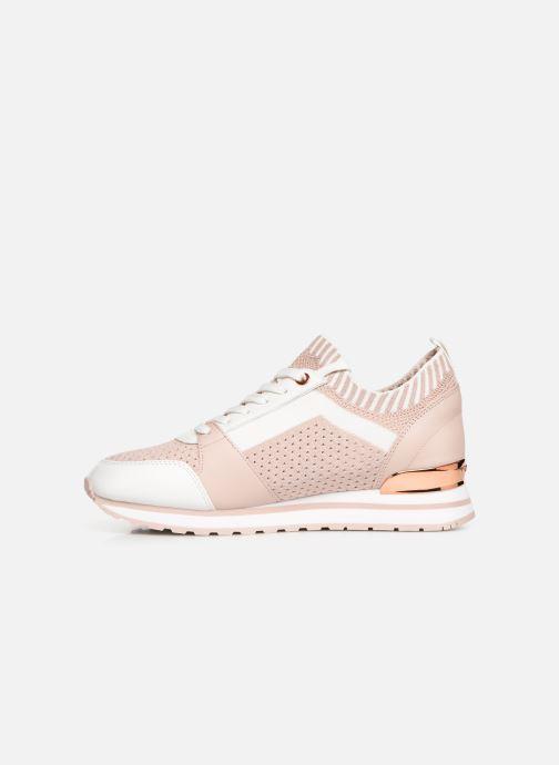 Sneaker Michael Michael Kors Billie Knit Trainer rosa ansicht von vorne
