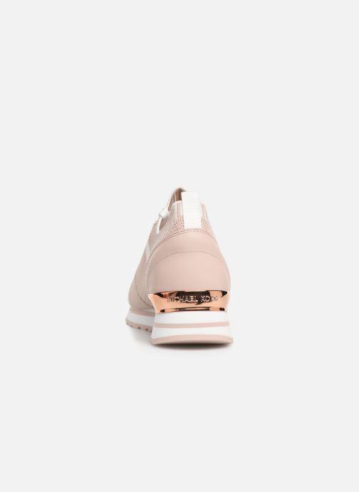 Sneaker Michael Michael Kors Billie Knit Trainer rosa ansicht von rechts