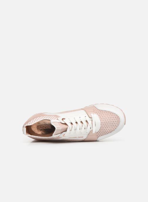 Sneaker Michael Michael Kors Billie Knit Trainer rosa ansicht von links