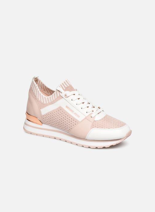 Sneaker Michael Michael Kors Billie Knit Trainer rosa detaillierte ansicht/modell
