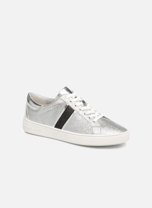91f3784cc09 Michael Michael Kors Keaton Stripe Sneaker (Zilver) - Sneakers chez ...