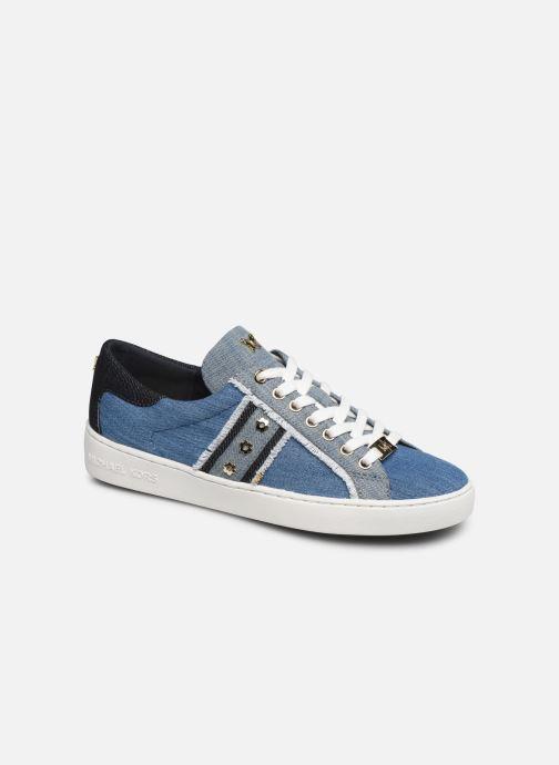 Baskets Michael Michael Kors Keaton Stripe Sneaker Bleu vue détail/paire