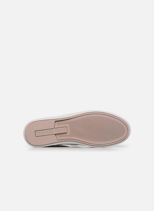 Deportivas Michael Michael Kors Keaton Stripe Sneaker Rosa vista de arriba
