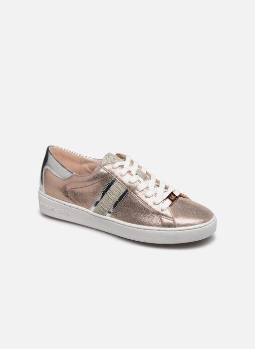 Baskets Michael Michael Kors Keaton Stripe Sneaker Rose vue détail/paire