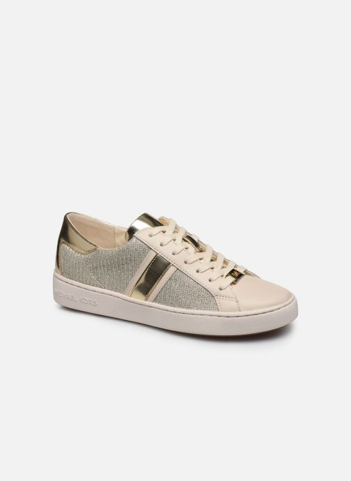 Baskets Michael Michael Kors Keaton Stripe Sneaker Beige vue détail/paire