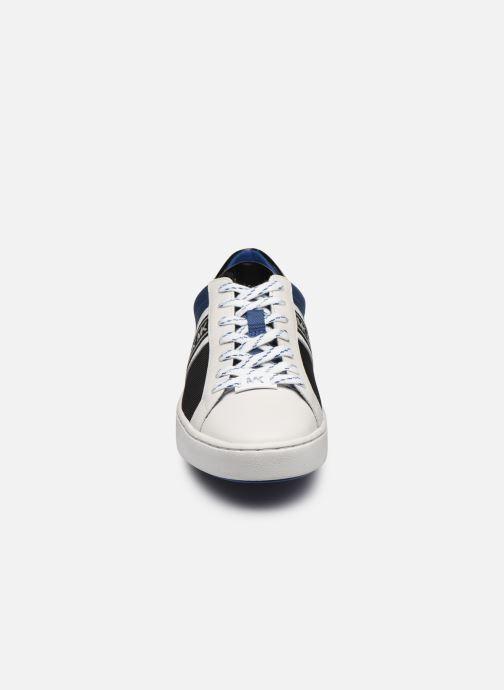 Sneakers Michael Michael Kors Keaton Stripe Sneaker Multicolore modello indossato