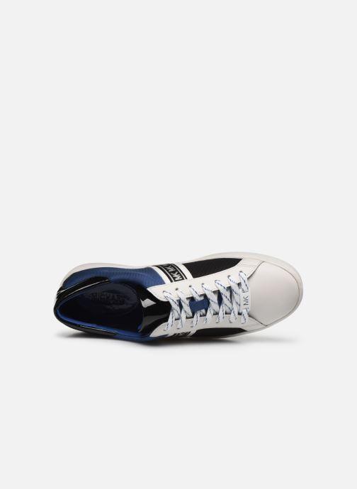 Baskets Michael Michael Kors Keaton Stripe Sneaker Multicolore vue gauche