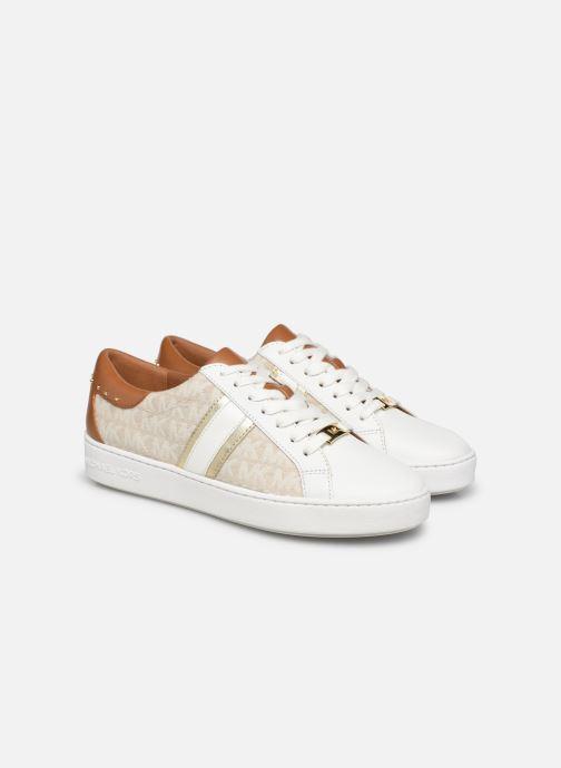 Sneakers Michael Michael Kors Keaton Stripe Sneaker Beige immagine 3/4