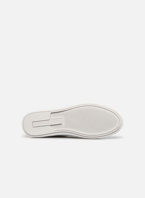 Sneakers Michael Michael Kors Keaton Stripe Sneaker Beige immagine dall'alto