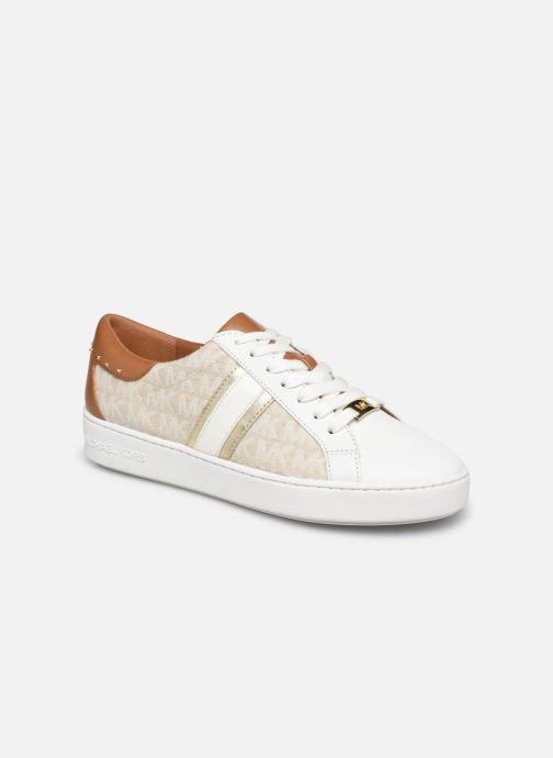 Sneakers Michael Michael Kors Keaton Stripe Sneaker Beige vedi dettaglio/paio