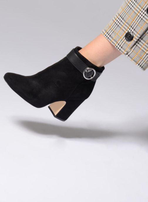 Stiefeletten & Boots Michael Michael Kors Alana Bootie schwarz ansicht von unten / tasche getragen