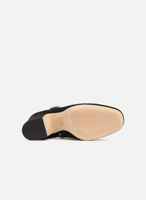 Stiefeletten & Boots Michael Michael Kors Alana Bootie schwarz ansicht von oben