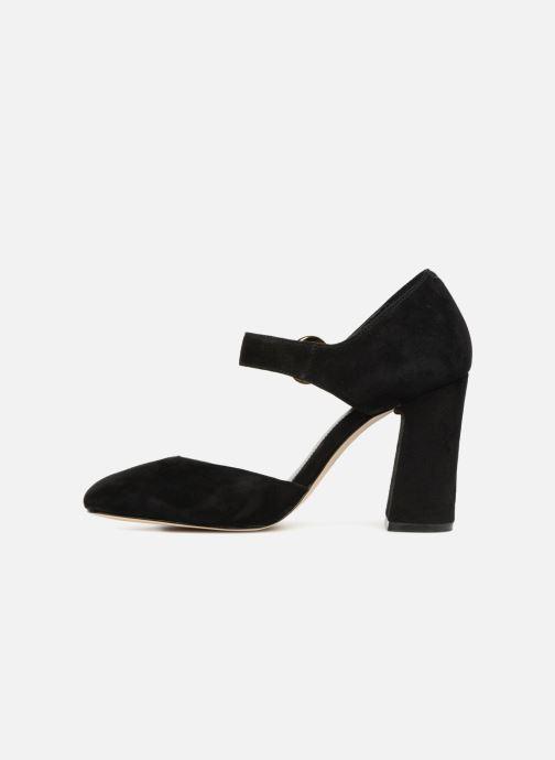 3b23a9675d4 Zapatos de tacón Michael Michael Kors Alana Closed Toe Negro vista de frente