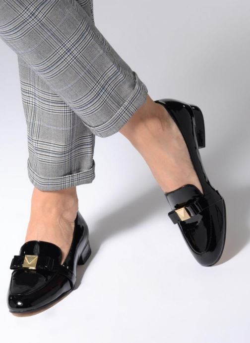 29a54a47859 Loafers Michael Michael Kors Caroline Loafer Black view from underneath    model view