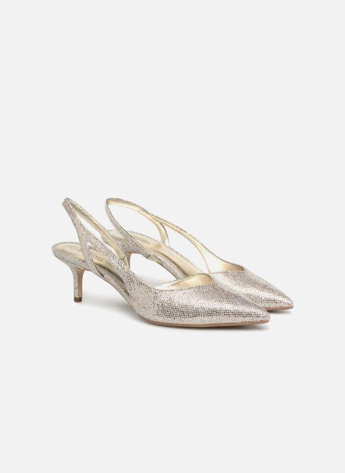Zapatos de tacón Michael Michael Kors Eliza Flex Kitten Pump Oro y bronce vista 3/4