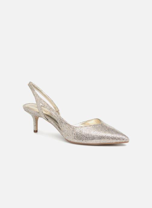 Zapatos de tacón Michael Michael Kors Eliza Flex Kitten Pump Oro y bronce vista de detalle / par
