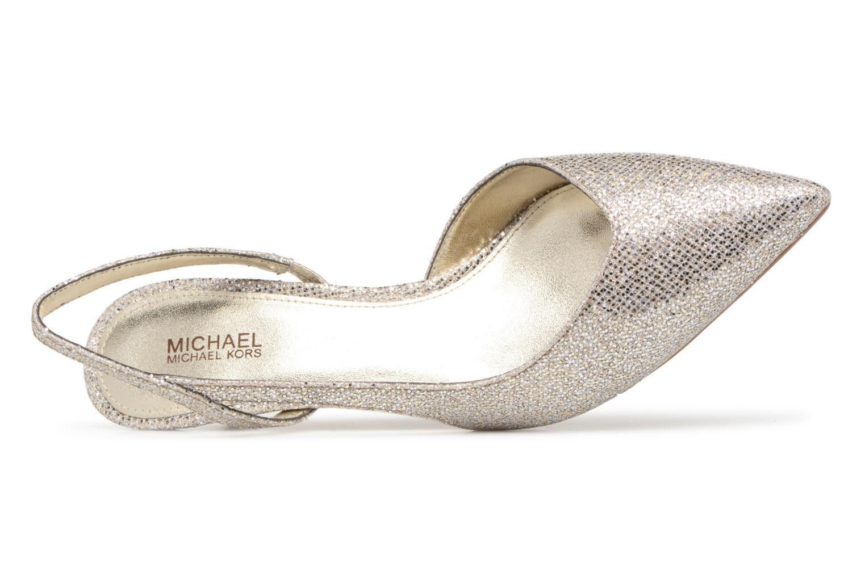 Pumps Michael Michael Kors Eliza Flex Kitten Pump gold/bronze ansicht von links