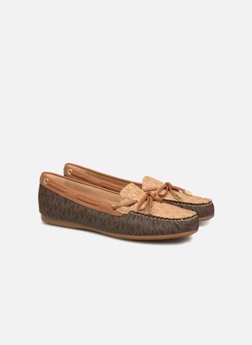 Loafers Michael Michael Kors Sutton Moc Brun 3/4 billede