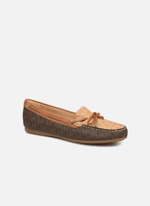 Loafers Michael Michael Kors Sutton Moc Brun detaljeret billede af skoene