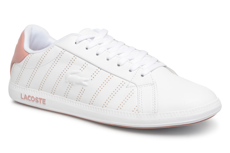 Lacoste Graduate 318 1 W (Blanc) - Baskets en Más cómodo Les chaussures les plus populaires pour les hommes et les femmes