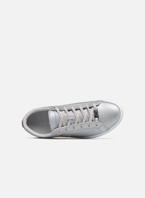 16904d27e9a Lacoste Straightset 318 2 (Silver) - Trainers chez Sarenza (335892)