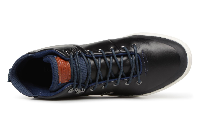 Baskets Lacoste Explorateur Classic 318 1 Bleu vue gauche