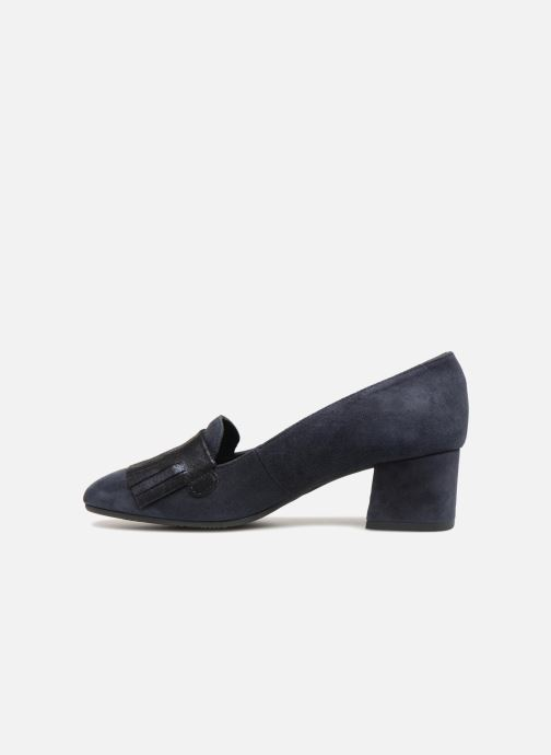 Loafers Georgia Rose Laurana Soft Blue front view