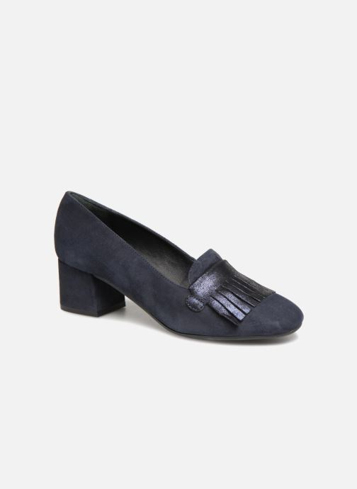Loafers Georgia Rose Laurana Soft Blue detailed view/ Pair view