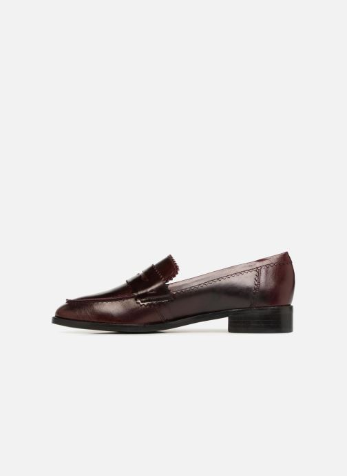Mocassins Georgia Rose Lacroquet Bordeaux voorkant