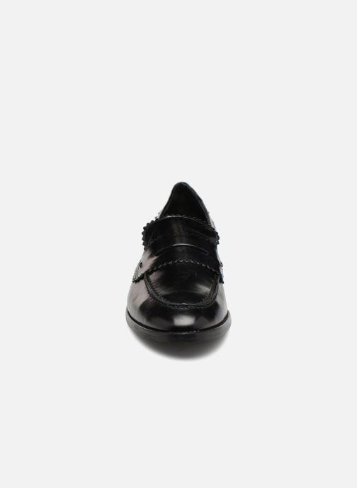 Mocassins Georgia Rose Lacroquet Noir vue portées chaussures