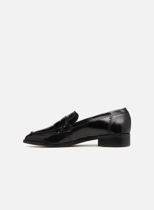 Loafers Georgia Rose Lacroquet Black front view